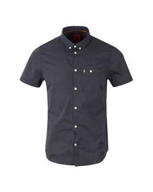 Luke Mens Blue S/S Little Ronnie Shirt