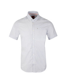 Luke Mens White S/S Bridgesouth Shirt