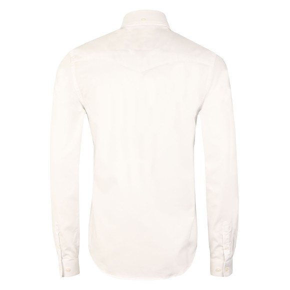 Luke Mens White L/S Cuffys Call Shirt main image