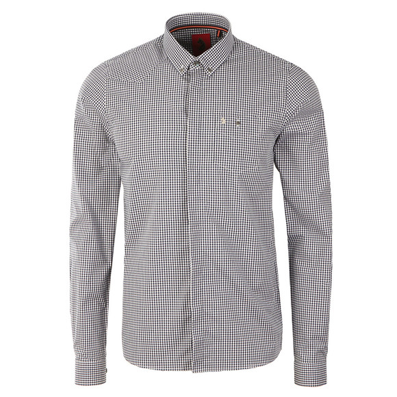 Luke Mens Blue Twentyfourseven Clean Shirt main image