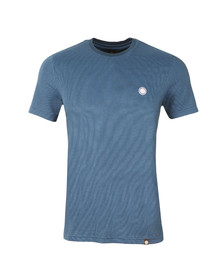 Pretty Green Mens Blue Somerton T Shirt
