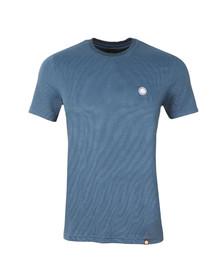 Pretty Green Mens Blue Somerton T Shirt