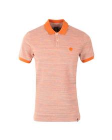 Pretty Green Mens Orange Tenax Polo Shirt
