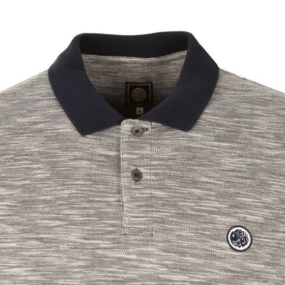 Pretty Green Mens Blue Tenax Polo Shirt main image