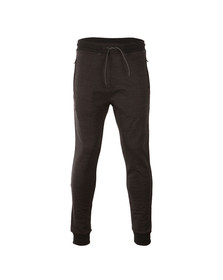 Luke Mens Black Spaced Mario Jogger