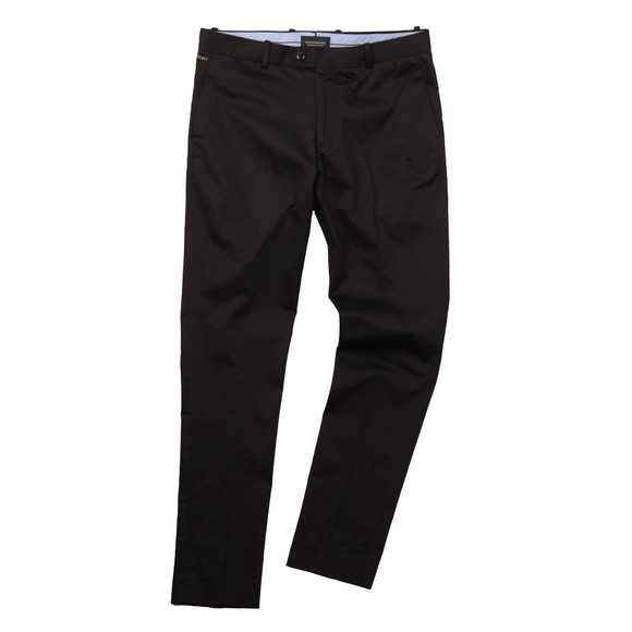 Scotch & Soda Mens Blue Cotton Satin Trouser main image