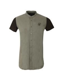Sik Silk Mens Black Contrast Short Sleeve Jersey Shirt