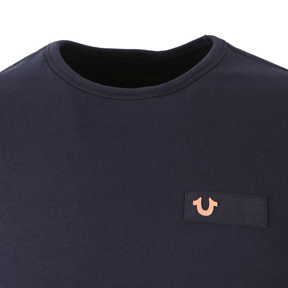 Metal Horseshoe Crew Sweatshirt main image