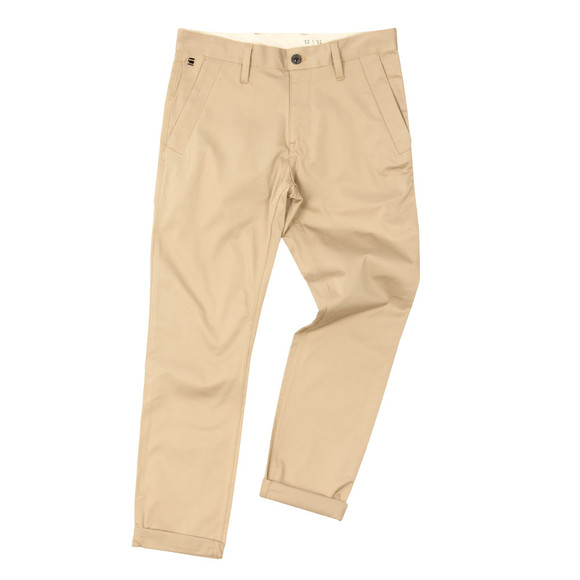 G-Star Mens Beige Bronson Slim Chino Trouser
