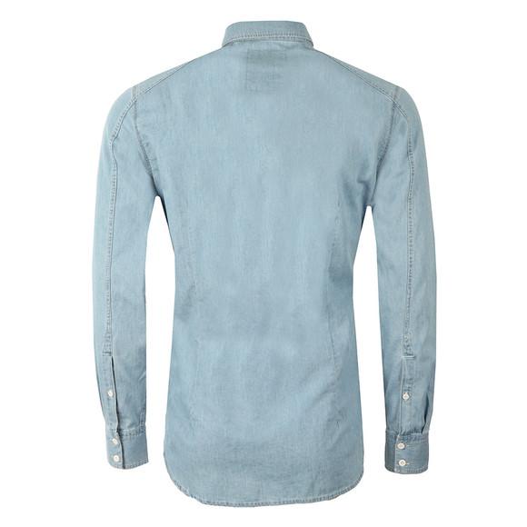 G-Star Mens Blue L/S Landoh Denim Shirt main image