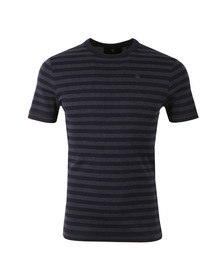 G-Star Mens Blue S/S Stripe Tee