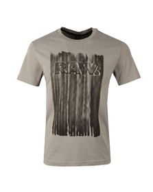 G-Star Mens Grey S/S Pertos Tee