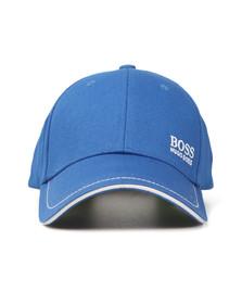 Boss Green Mens Blue Small Logo Cap