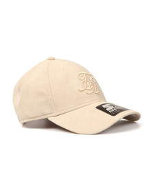 Sik Silk Mens Off-white X Starter Suede Bent Peak Cap