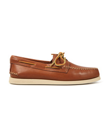 Sperry Mens Brown Authentic Original Wedge Boat Shoe