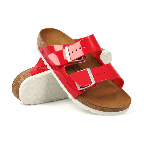 Birkenstock Womens Red Arizona Sandal main image