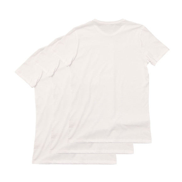 Diesel Mens White Jake 3 Pack T Shirts main image