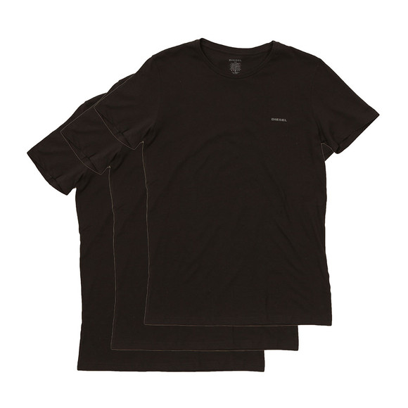 Diesel Mens Black Jake 3 Pack T Shirts main image