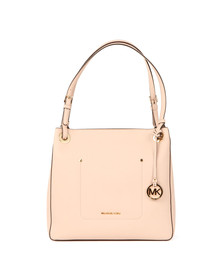 Michael Kors Womens Pink Walsh Mid Shoulder Tote