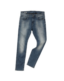 G-Star Mens Blue Revend Super Slim Jean