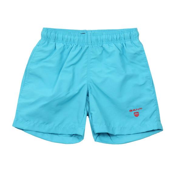Gant Boys Blue Boys Basic Swim Shorts main image