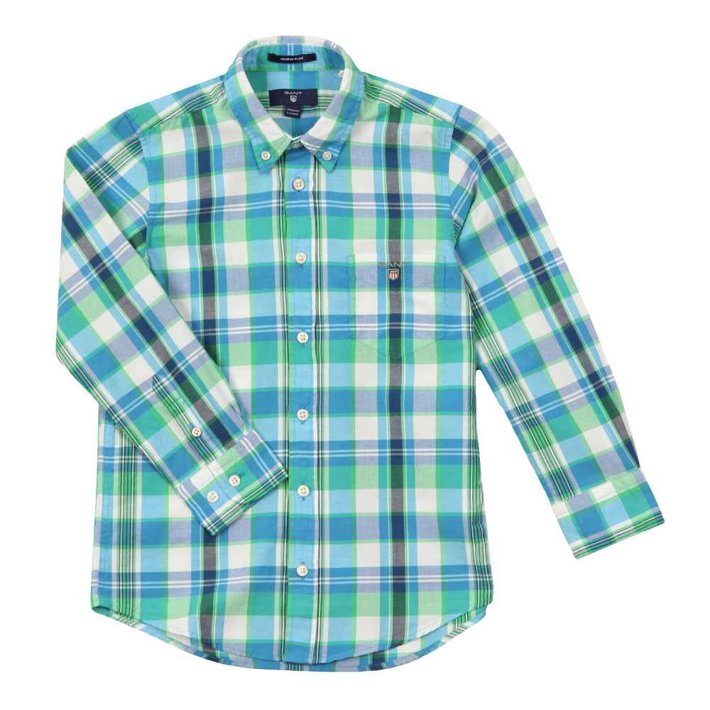 Large Madras Check Shirt main image