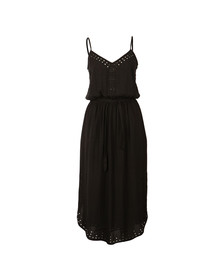 Maison Scotch Womens Black Strapey Summer Dress