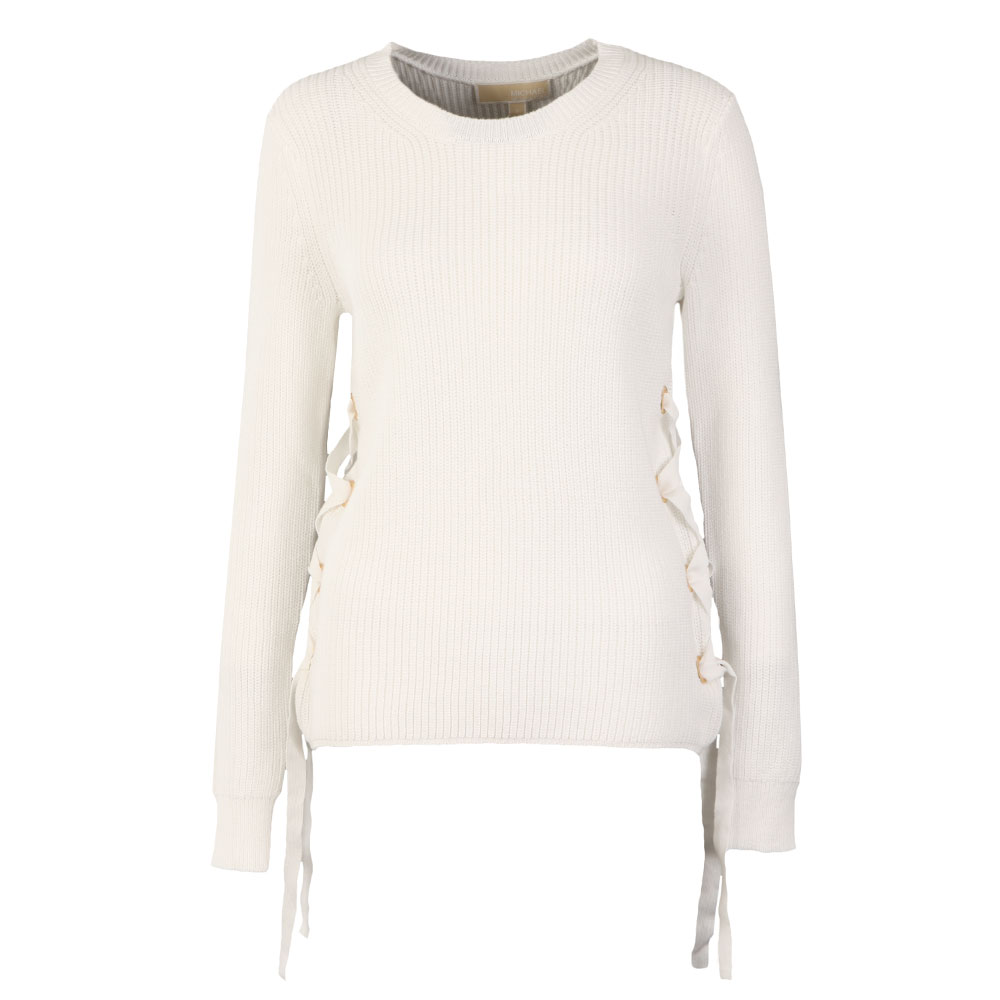 Side Lace Up Crew Jumper main image