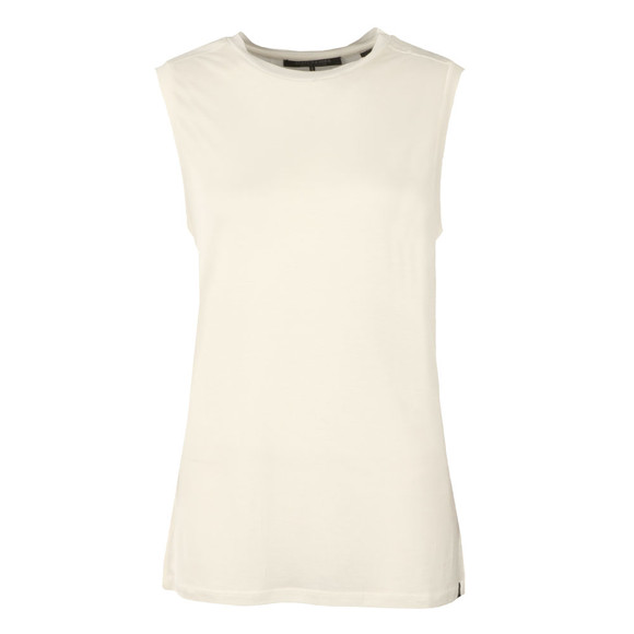 Maison Scotch Womens Off-white Soft Sleeveless Top main image