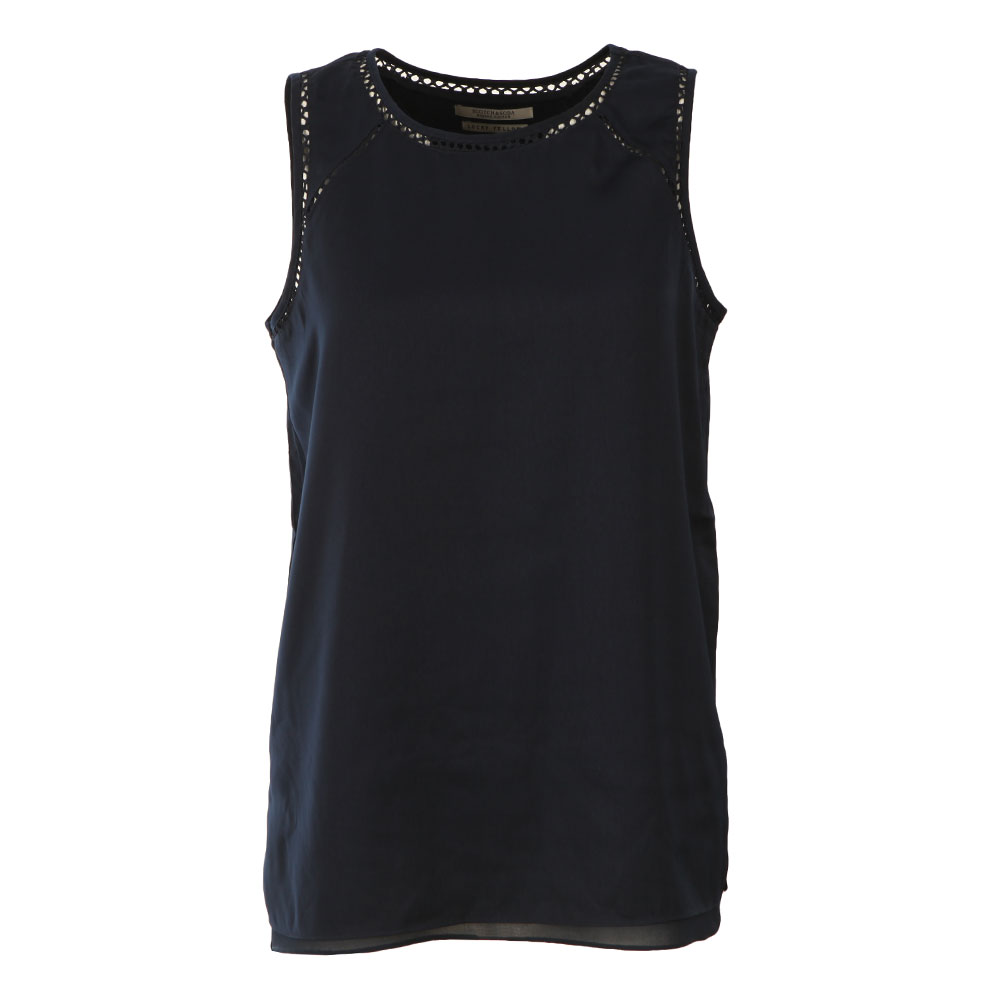 Sleeveless Silky Feel Top main image