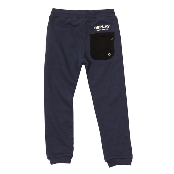 Replay Boys Blue Boys Mesh Pocket Jogger