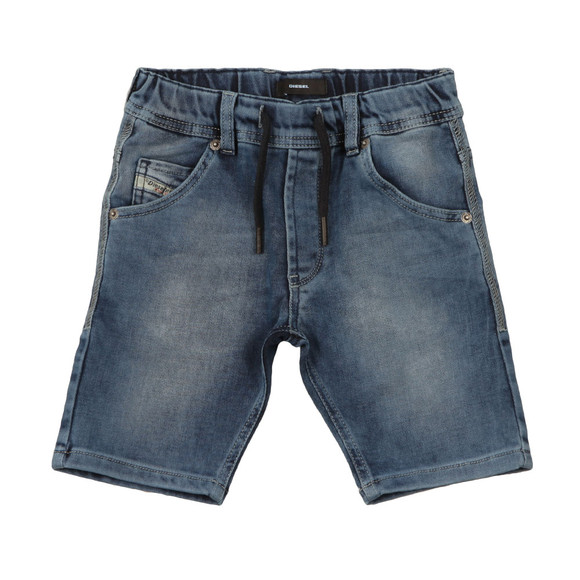 Diesel Boys Blue Krooley Jogg Jean Short