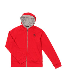 Diesel Boys Red Boys Light Hoody