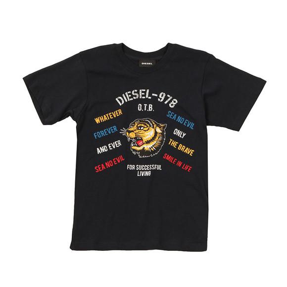 Diesel Boys Blue Boys Tavi T Shirt main image
