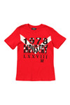 Diesel Boys Red Taner T Shirt