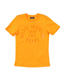 Diesel Boys Orange Boys Taigo Slim T Shirt