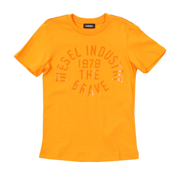 Diesel Boys Orange Boys Taigo Slim T Shirt main image