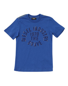 Diesel Boys Blue Boys Taigo Slim T Shirt