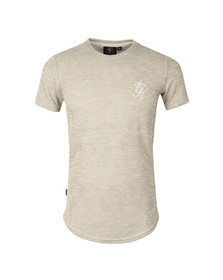 Gym king Mens Off-white Birdseye Pique Tee