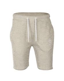 Gym king Mens Off-white Birdseye Pique Shorts