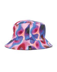 Pretty Green (Black Label) Mens Blue Digi Paisley Bucket Hat