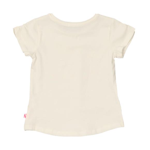 Billieblush Girls White Girl Power T Shirt main image