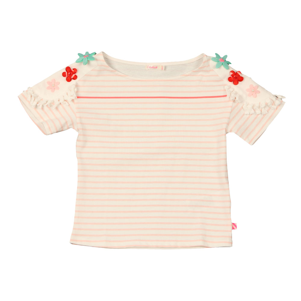 Flower Shoulder T Shirt main image