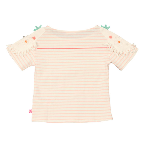 Billieblush Girls Pink Flower Shoulder T Shirt main image