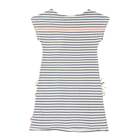 Billieblush Girls Blue U12292 Stripe Dress main image