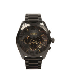 Nixon Mens Black Bullet Chrono Watch