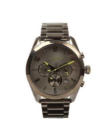 Nixon Mens Grey Bullet Chrono Watch