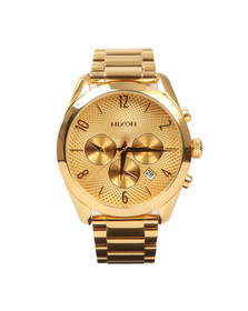Nixon Mens Gold Bullet Chrono Watch