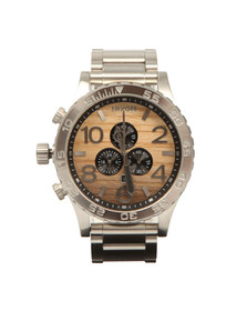 Nixon Mens Silver The 51-30 Chrono