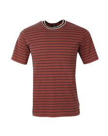 Paul Smith Mens Blue Striped T Shirt